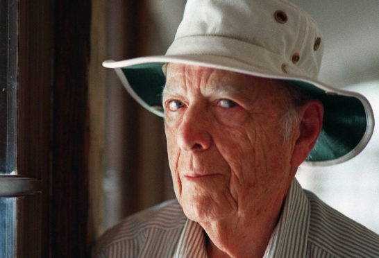 Pulitzer Prize-winning author Herman Wouk has died aged 103. (AP Photo/Douglas L. Benc Jr., File)