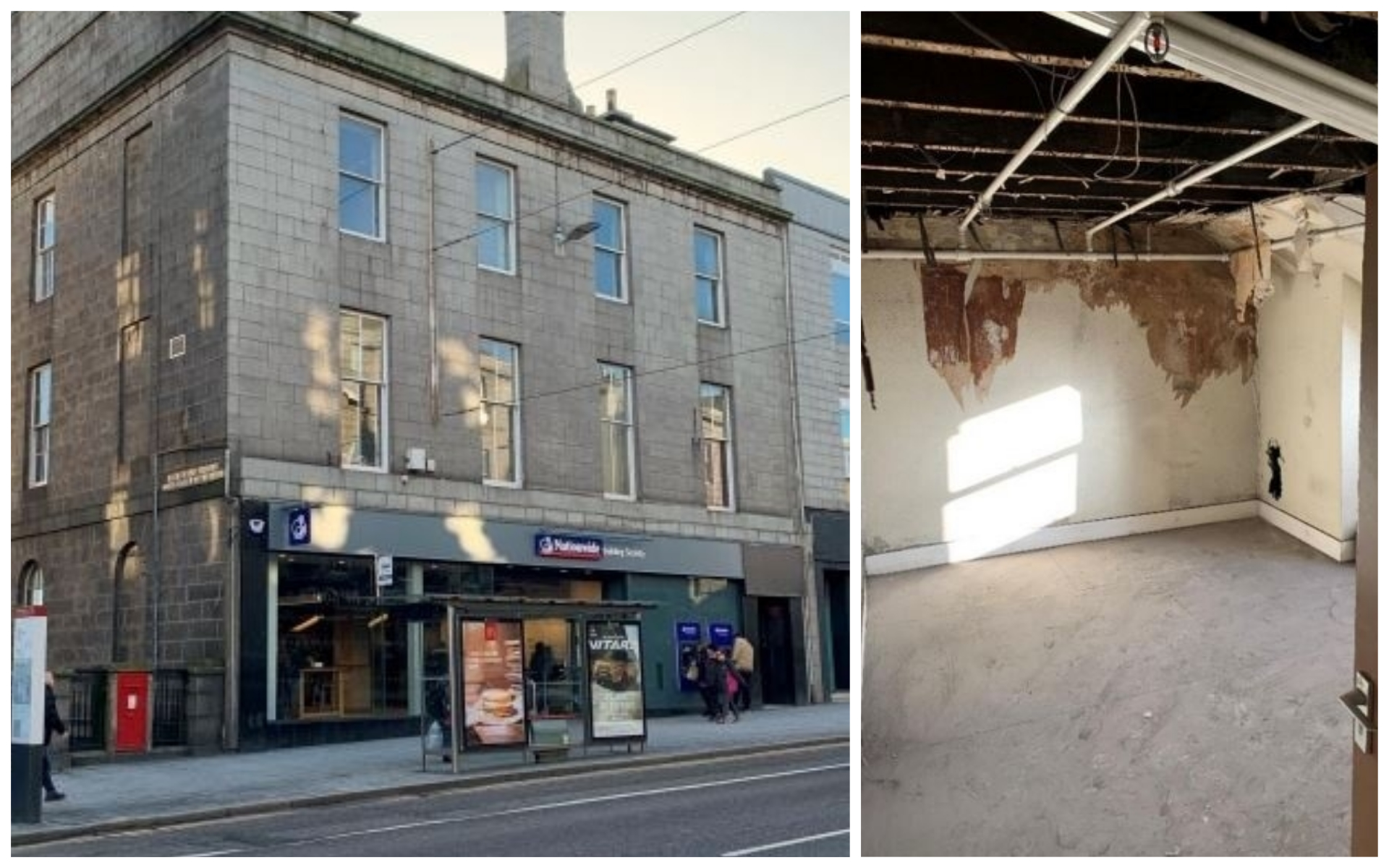 Plans have been lodged to turn the office space at 133 Union Street into flats.
