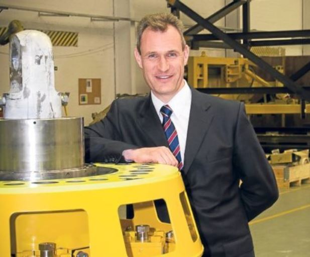 Drummond Lawson of Subsea Technologies.