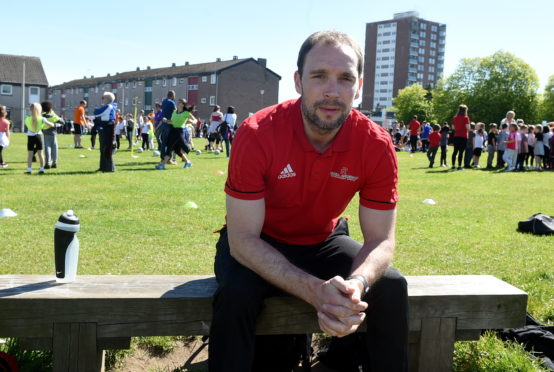 Former Aberdeen captain Russell Anderson.