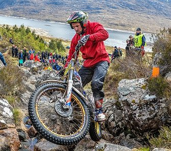 James Dabill triumphed at the 2019 Scottish Six Days Trial.