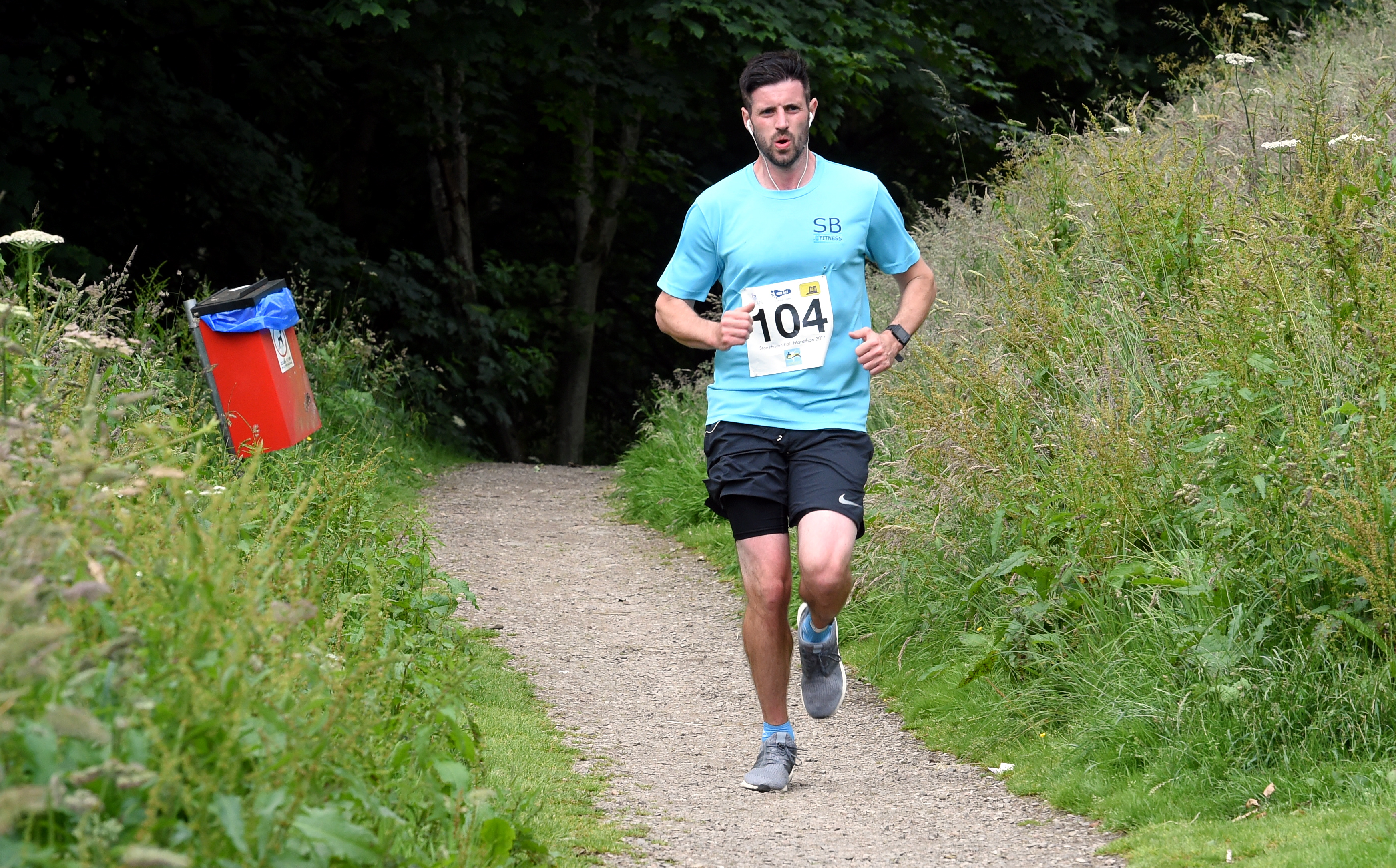 The new Run Banchory event has been organised by Scott Birse, who owns SB Fitness, and is also a keen runner.