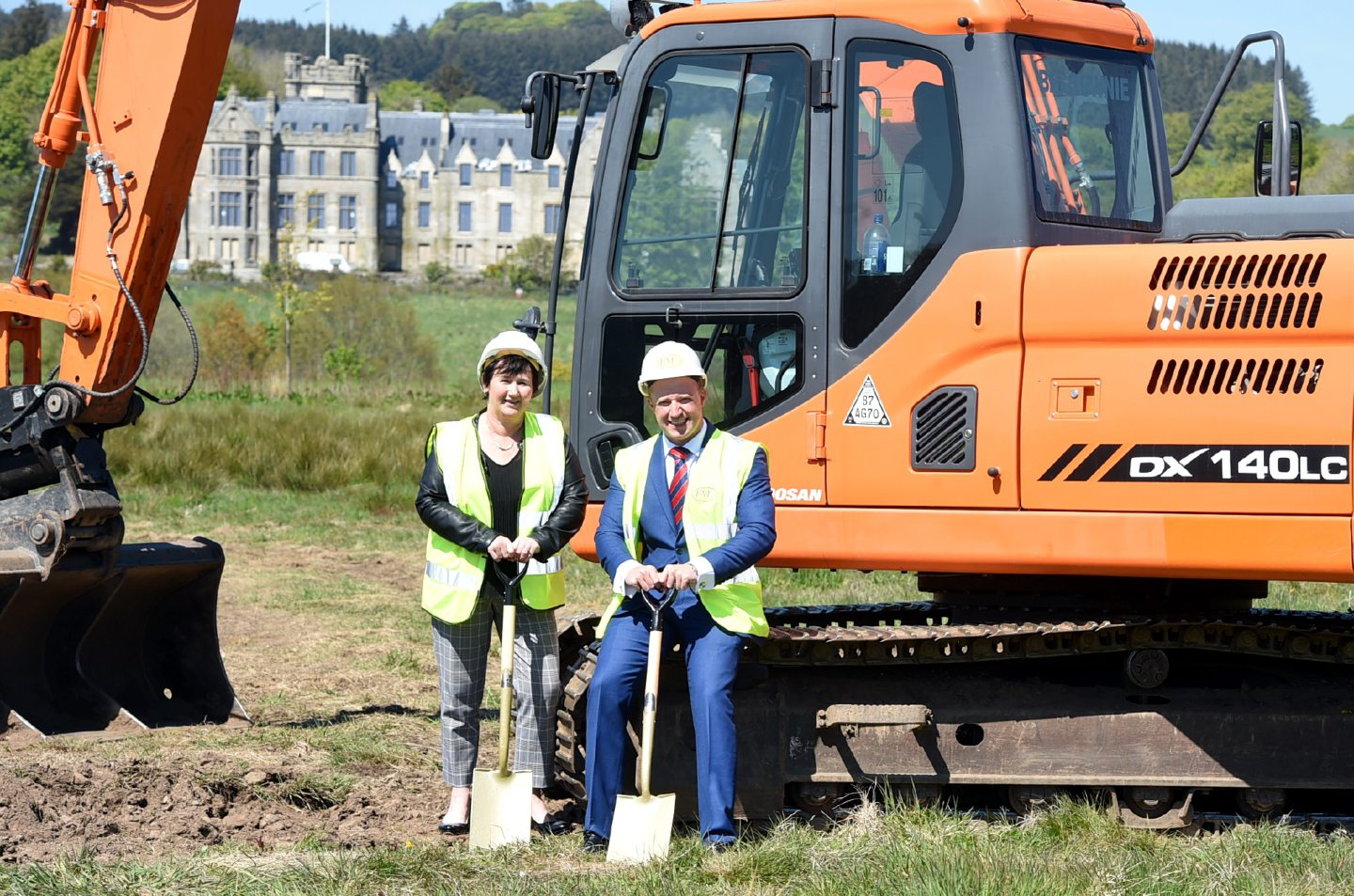 Construction began on the site in May. Picture: Jim Irvine