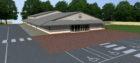 The proposed gospel hall in Peterhead