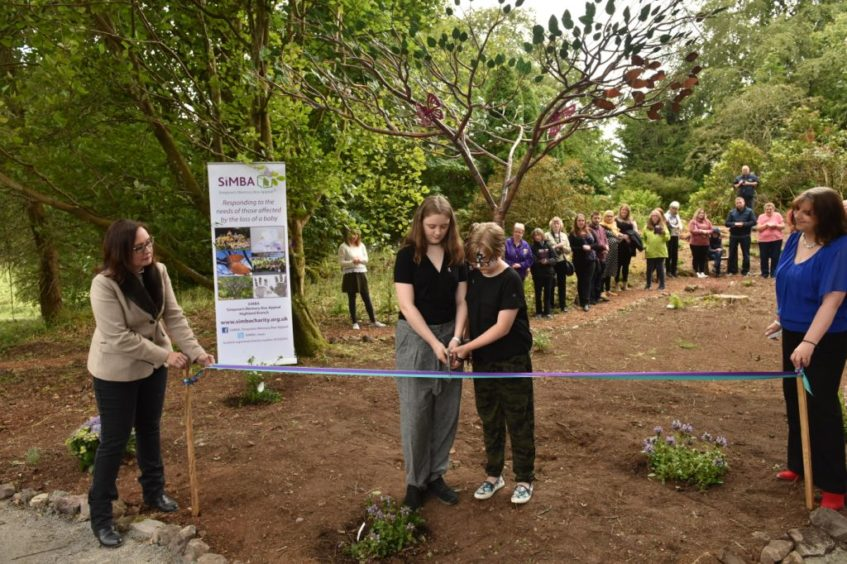 A Tree of Tranquillity was dedicated in Oban.
