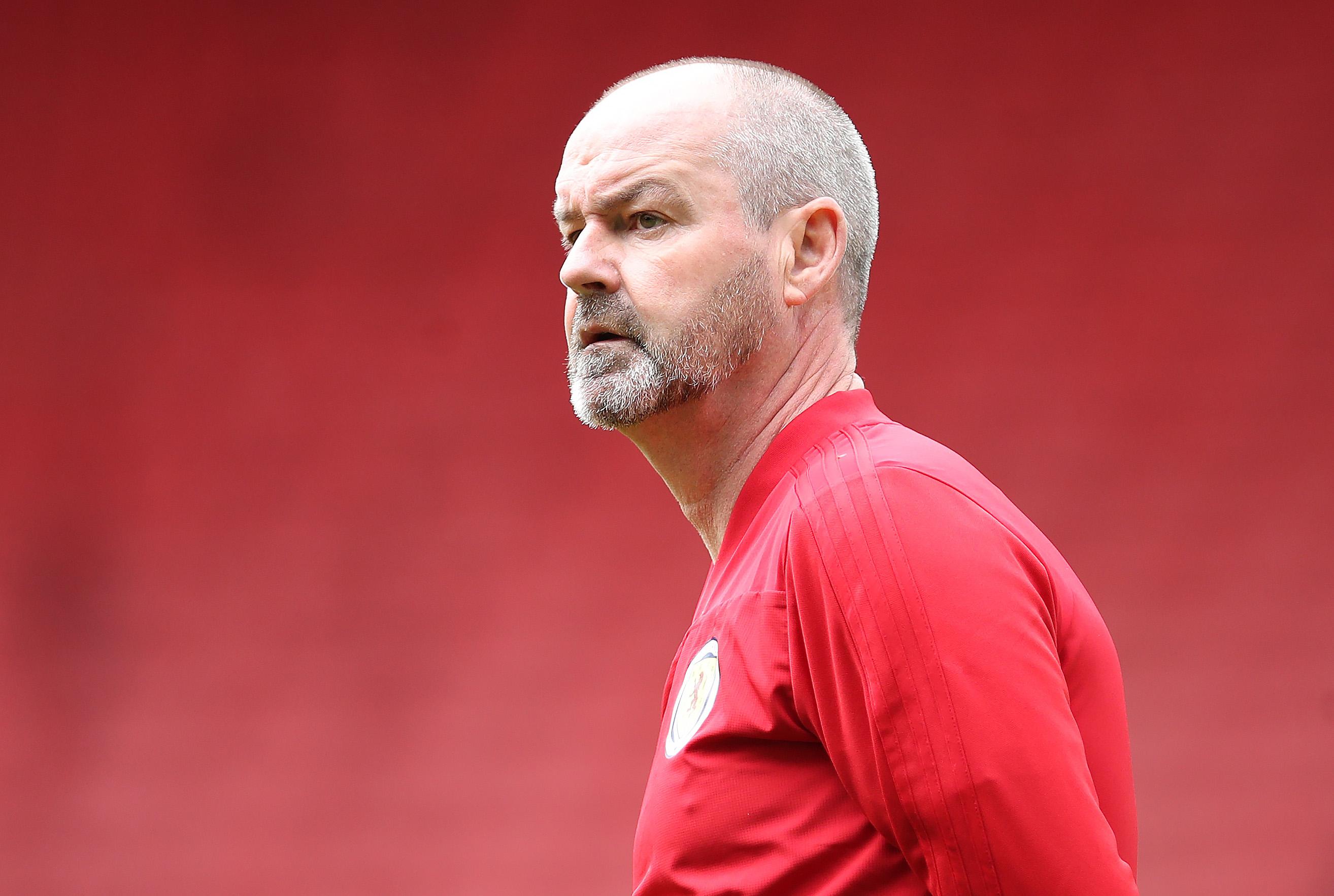 Scotland manager Steve Clarke