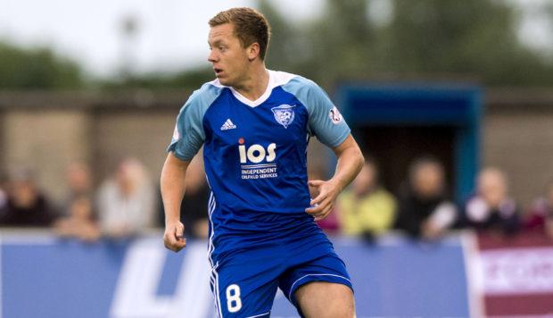 Peterhead midfielder Scott Brown.