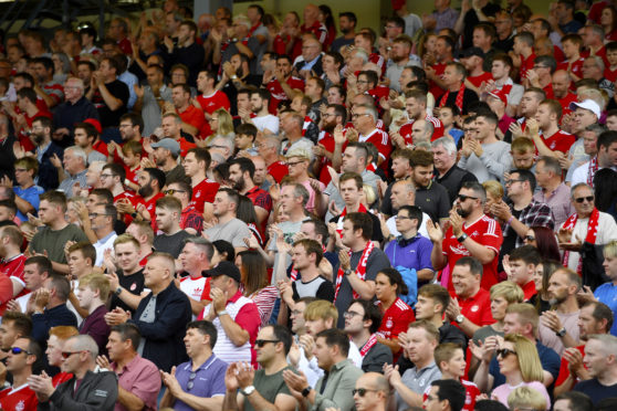 Aberdeen fans could return to Pittodrie in September
