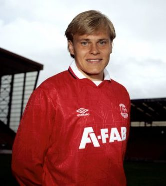 Mixu Paatelainen during his time with the Dons.