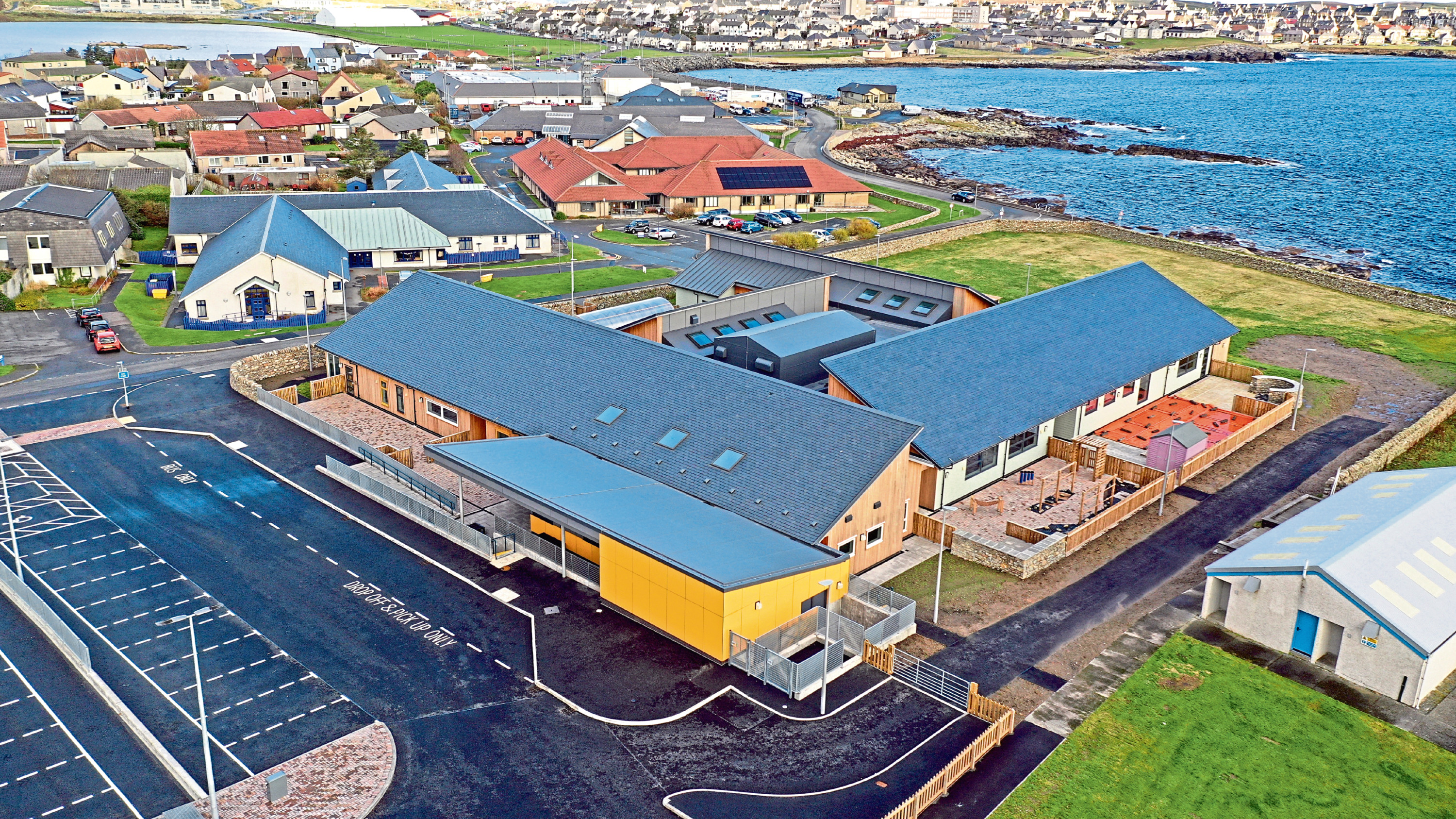 DITT Construction picked up the best public sector/local authority project award for the company's work on the Shetland Support Centre