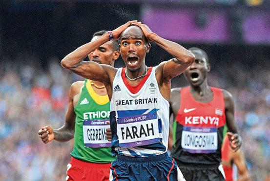 Great Britain's Mo Farah