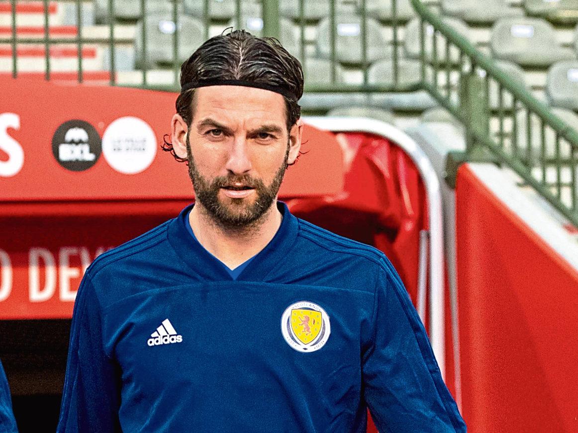 Scotland's Charlie Mulgrew