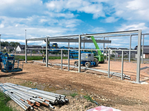 Construction starts on commercial scheme in Forres as Co-op confirms opening