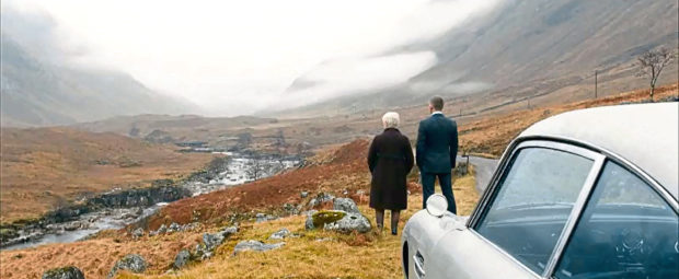 Screengrab from the trailer for the new Bond film SKYFALL    (Submitted)