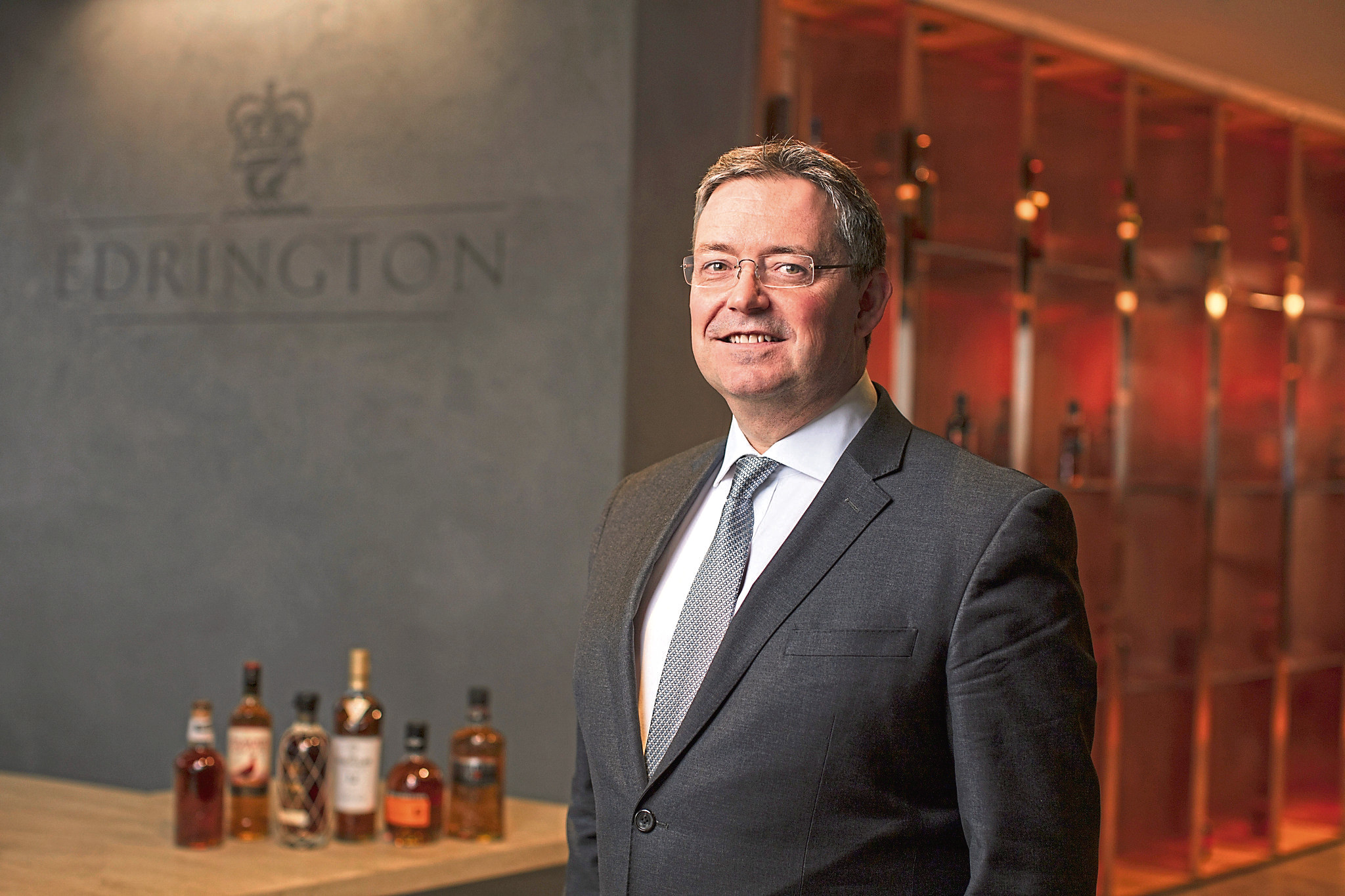 Edrington Group chief executive Scott McCroskie