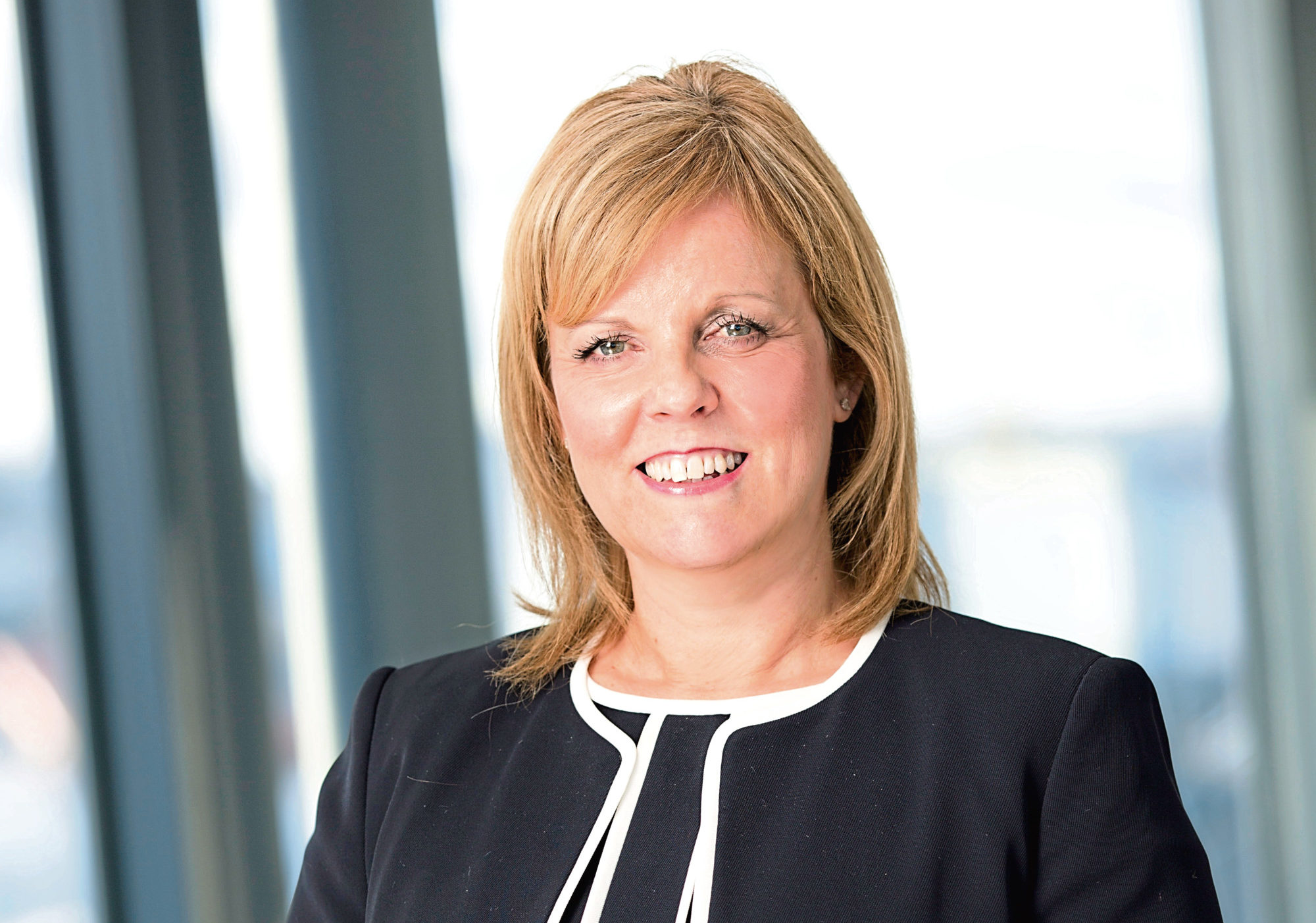 Chief executive of Aberdeen Harbour Board, Michelle Handforth.