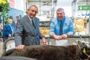 Aberdeen-Angus Cattle Society president Paul Jeenes and chief executive Barrie Turner.