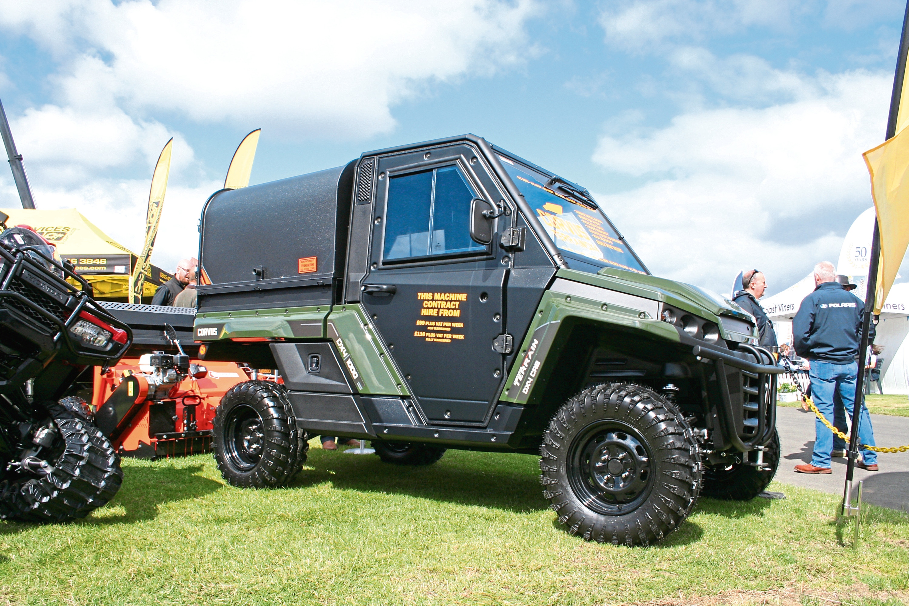 Terrain DX4 side-by-side is a new all-terrain vehicle from Spanish manufacturer Corvus.