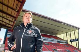 Aberdeen FC Women head coach Emma Hunter.