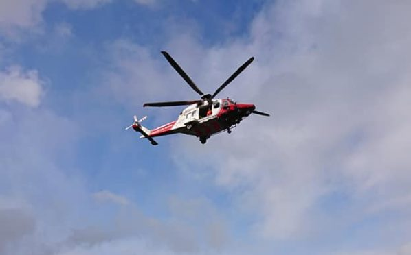 Picture by Lochaber Mountain Rescue Team.