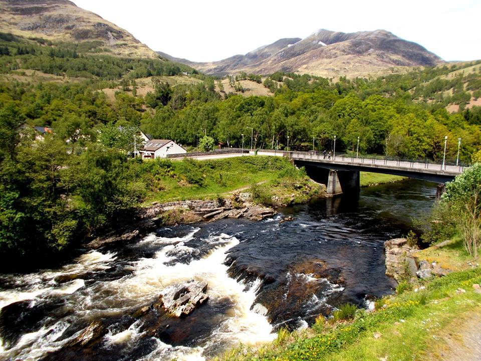The view of the Mamores from Kinlochleven Image: Sarah Fanet