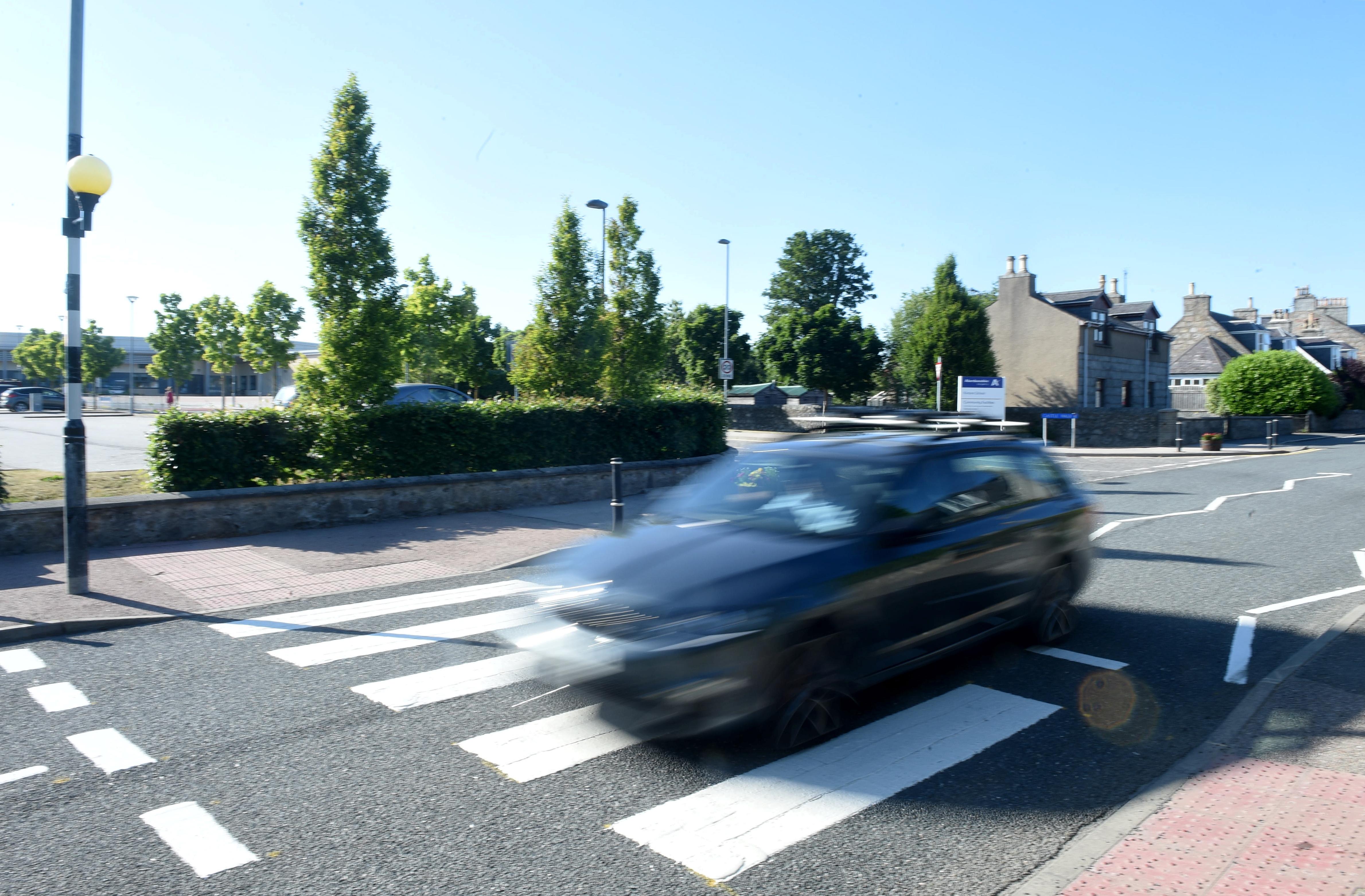 School Road in Kintore