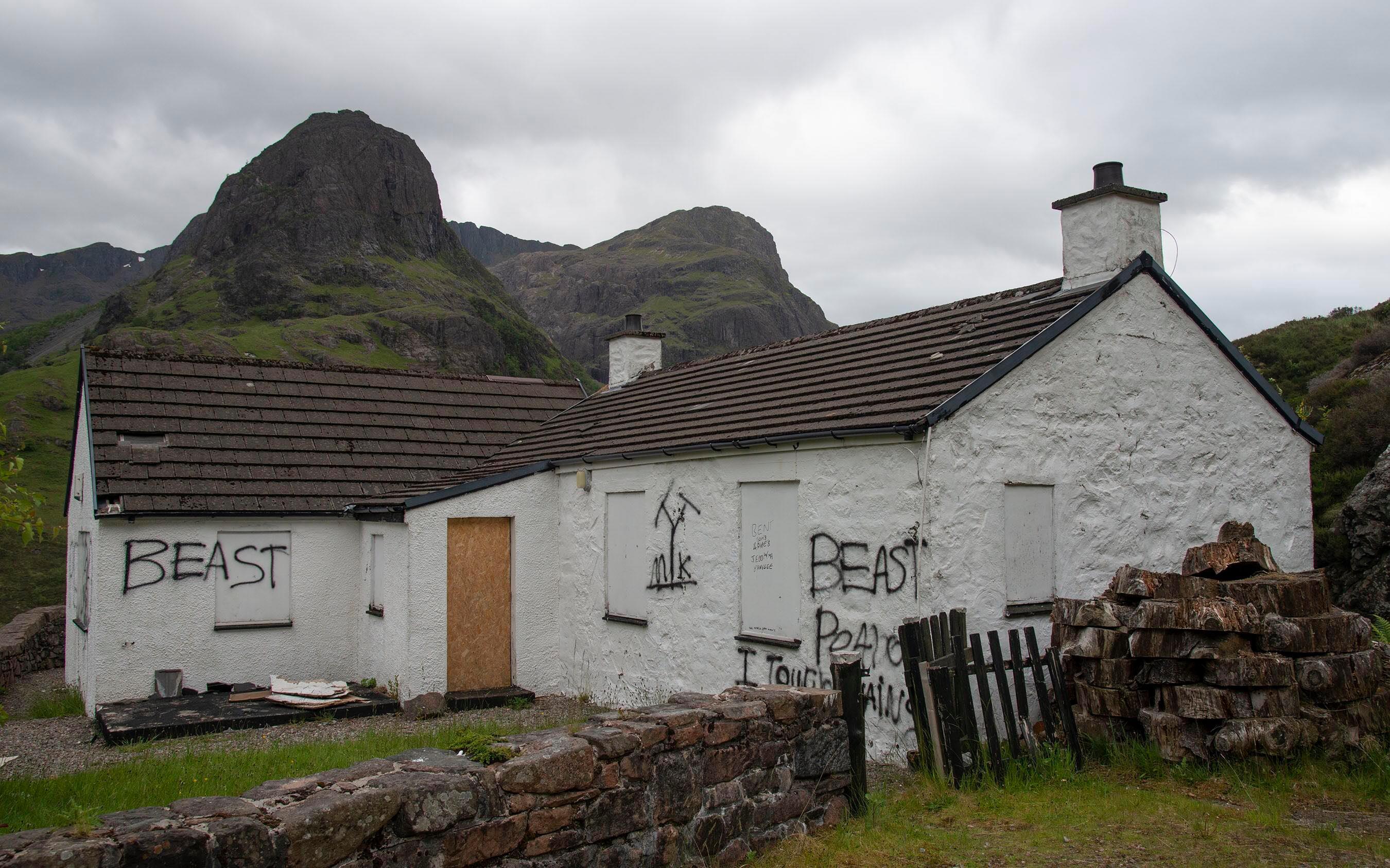 The house in Glencoe