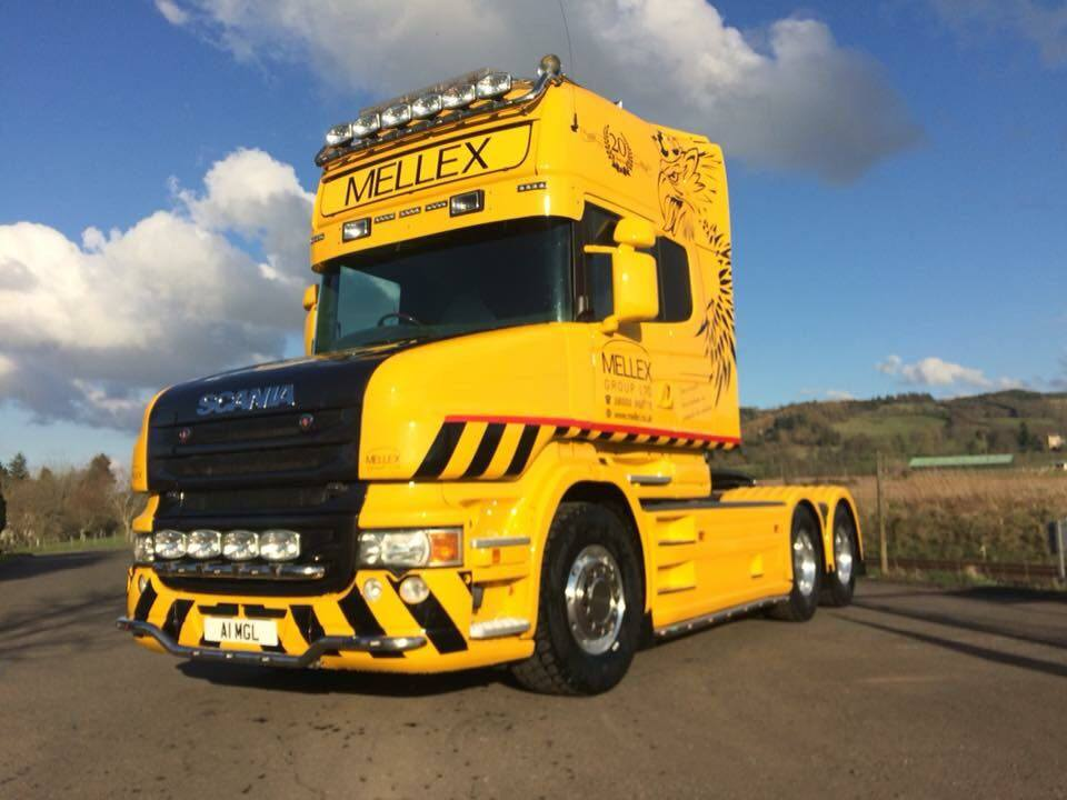 The Scania T Cab was on show at Oban and District Classic Car Club's annual event held in Taynuilt.