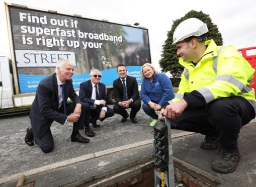 Newmachar residents will now be able to benefit from the £442 million Digital Scotland Superfast Broadband (DSSB) rollout.