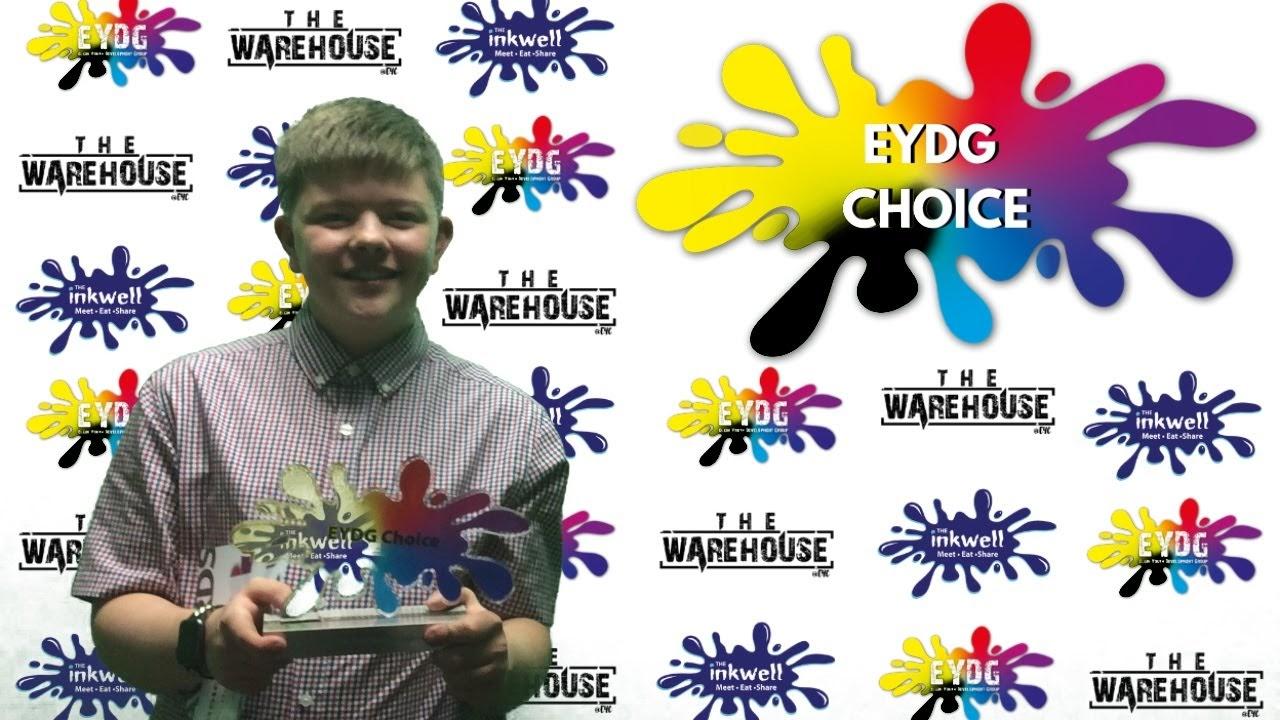 Aidan Henderson won the EYDG Choice award.