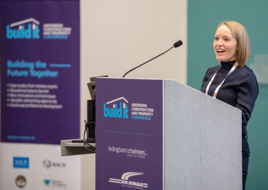 Aberdeen , Scotland, Monday, 3 December 2018    1st Aberdeen Construction and Property Conference Build it at AECC     Picture by Abermedia / Michal Wachucik