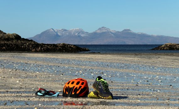 The Road to the Isles Triathlon. image supplied