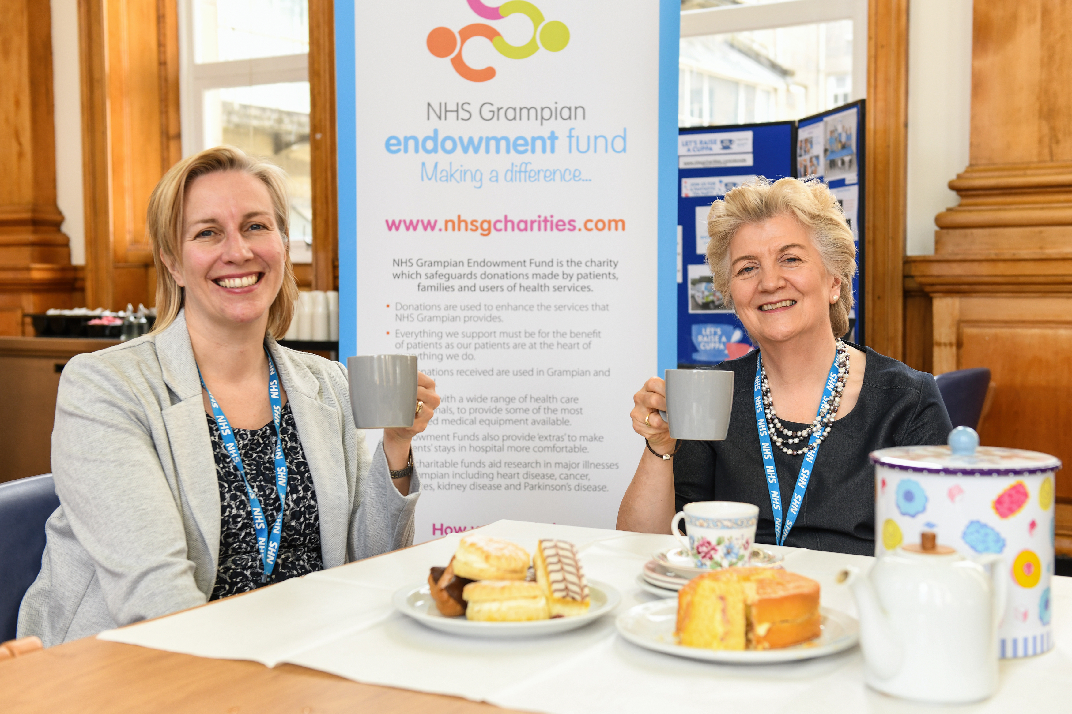 The campaign hopes to encourage the public to donate to help improve north-east facilities.