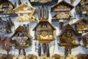 AUSTRIA - JULY 13:  Traditional cuckoo clocks on sale in Geschenkehaus shop in the town of Seefeld in the Tyrol, Austria (Photo by Tim Graham/Getty Images)