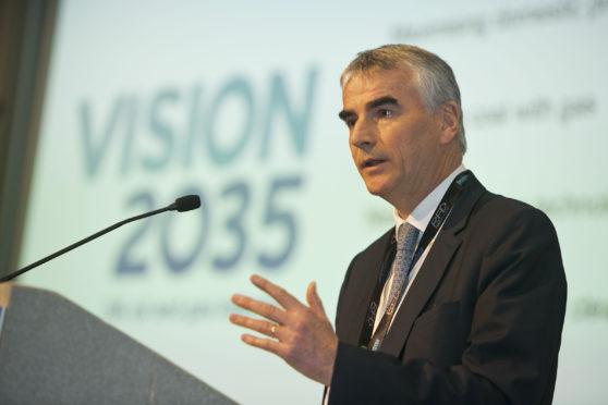 Total's UK managing director Jean-Luc Guiziou.