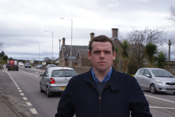 Moray MP Douglas Ross.