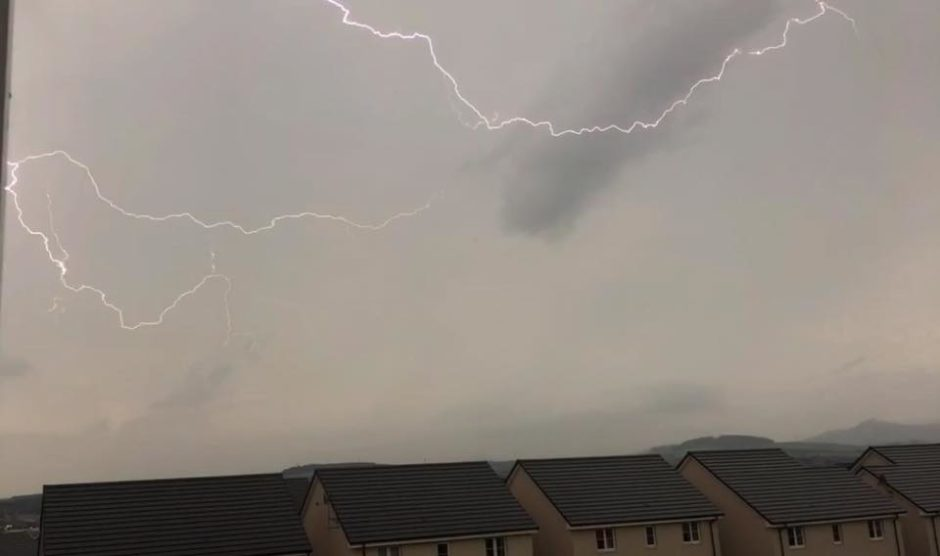 Captured by Graham Bell at Inverurie