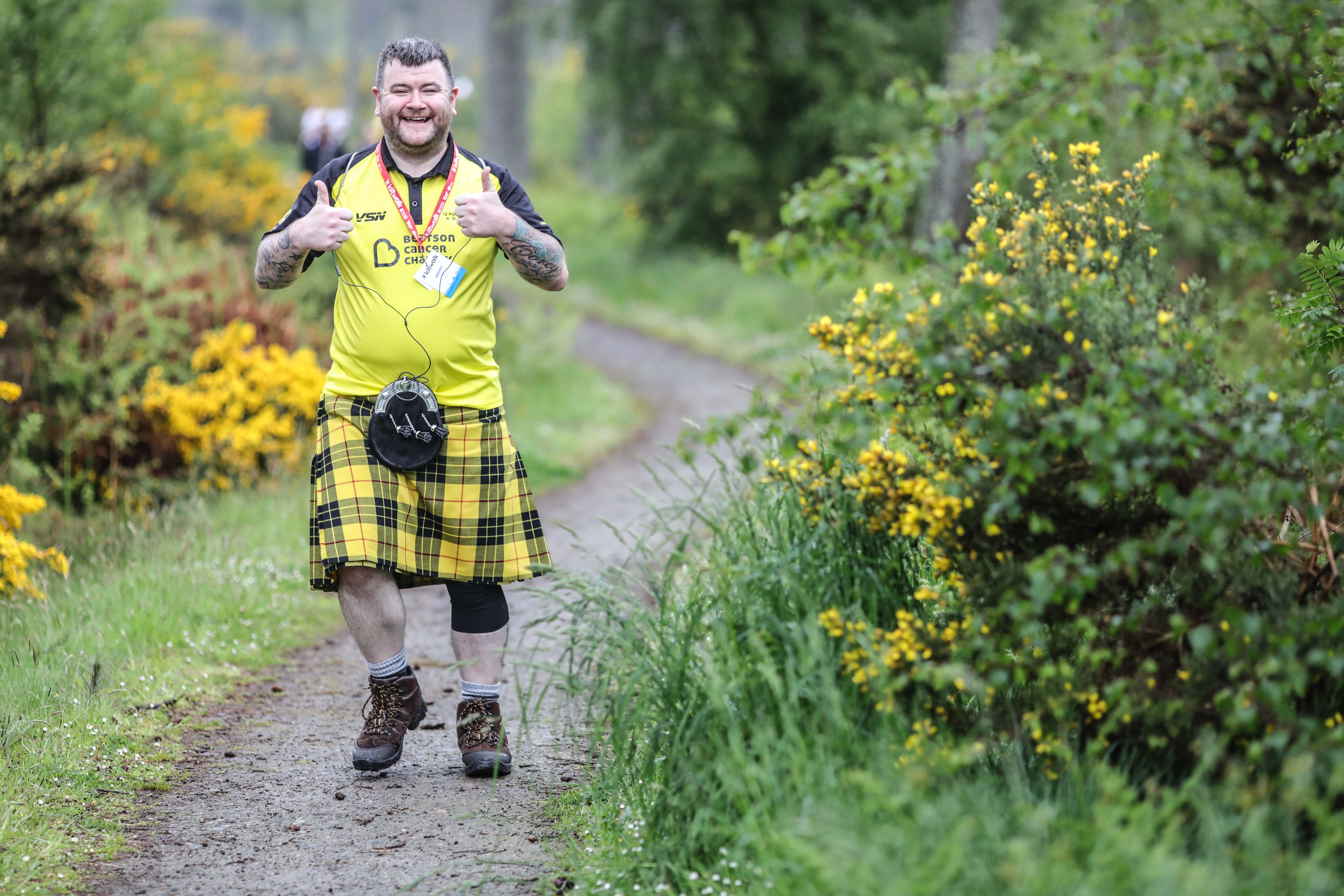Over 3,000 walkers raising more than £800,000 for Scottish charities.