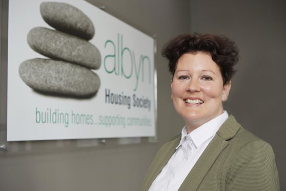Lisa Buchanan, new Chief Executive, Albyn Housing.