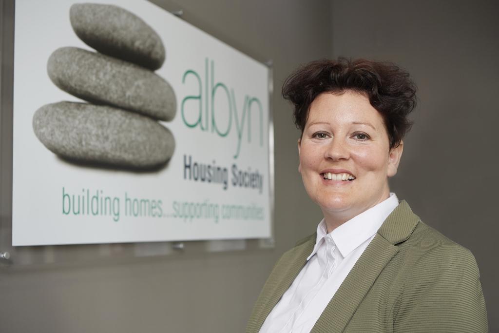 Lisa Buchanan, new Chief Executive, Albyn Housing.