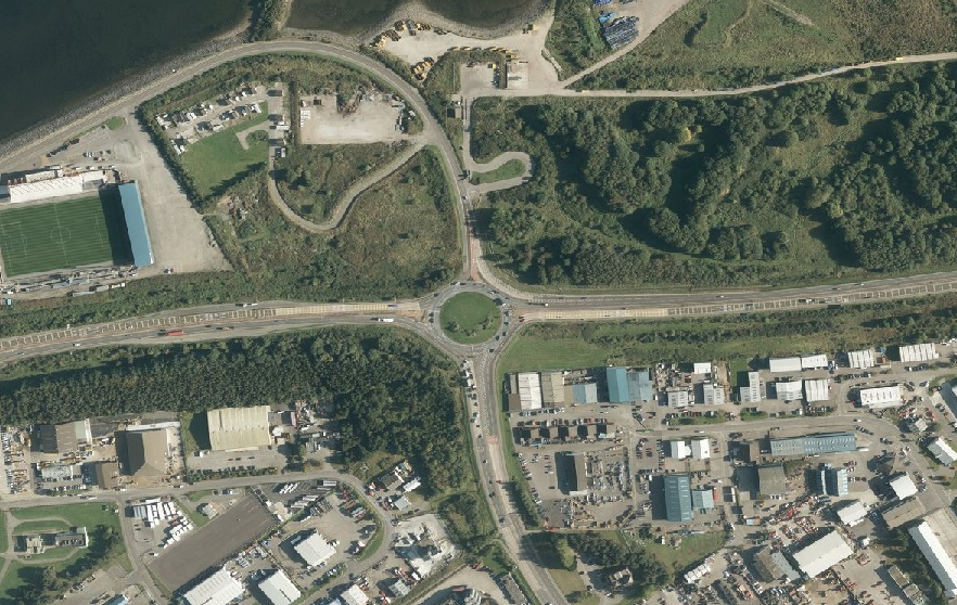Proposals for the improvement of the Longman roundabout in Inverness are to go on display