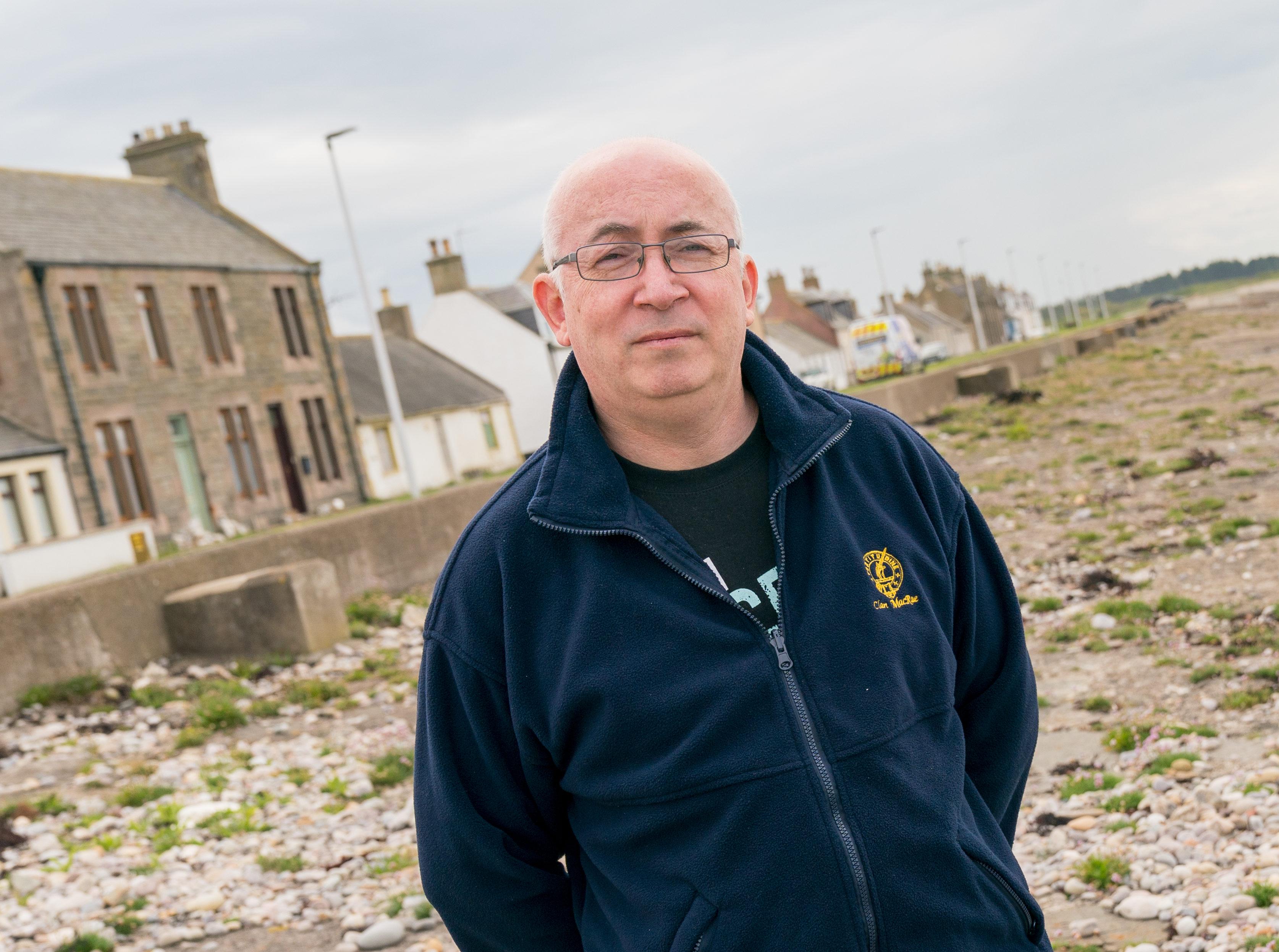 Councillor Marc Macrae of Moray Council.