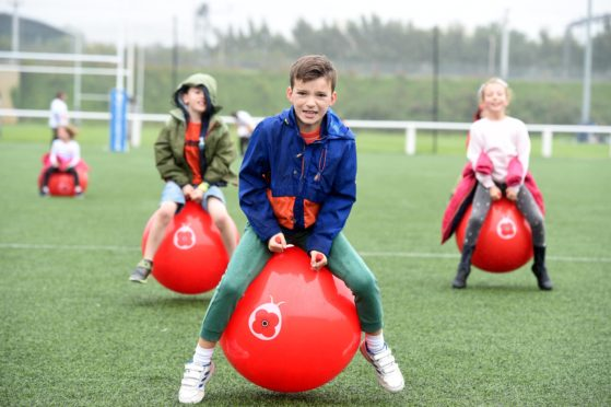Youngsters from across the country are taking on the charity's latest fundraising challenge.