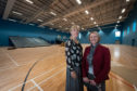 Picture: L2R - Kathryn Evans (Chief Executive) and Gail Cleaver (Operations Manager) pictured in the Sports Hall. Pictures and video by Jason Hedges