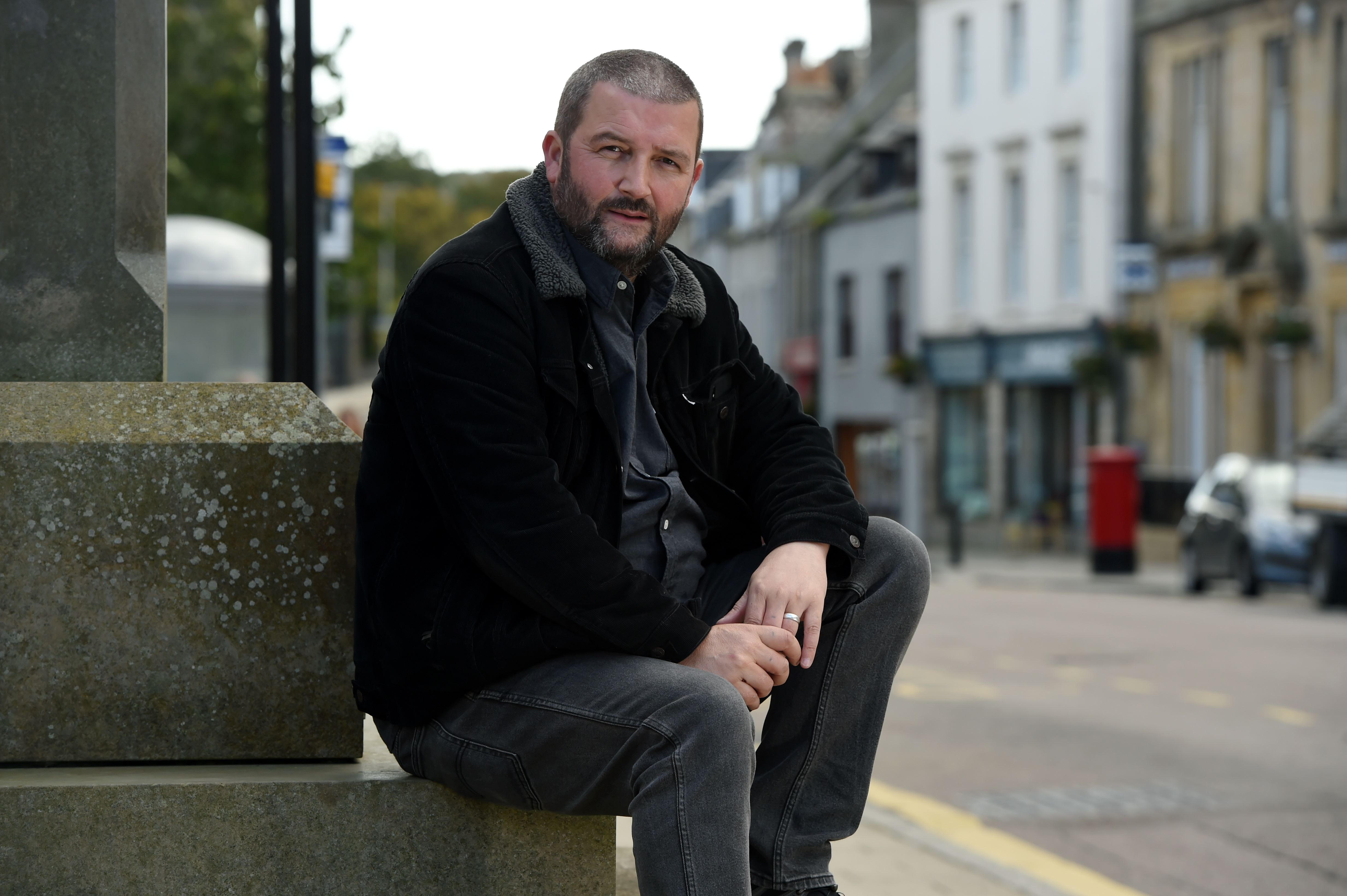 Gordon Cruden is area manager for a charity which helps people overcome addiction