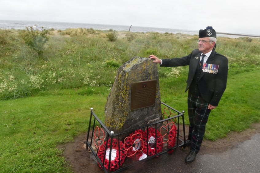 Bob Towns of the Nairn RBL