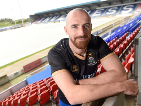 Picture by SANDY McCOOK    20th June '19 New Caley signing, James Vincent photographed in Inverness yesterday afternoon.