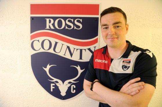 Ross County defender Sean Kelly.