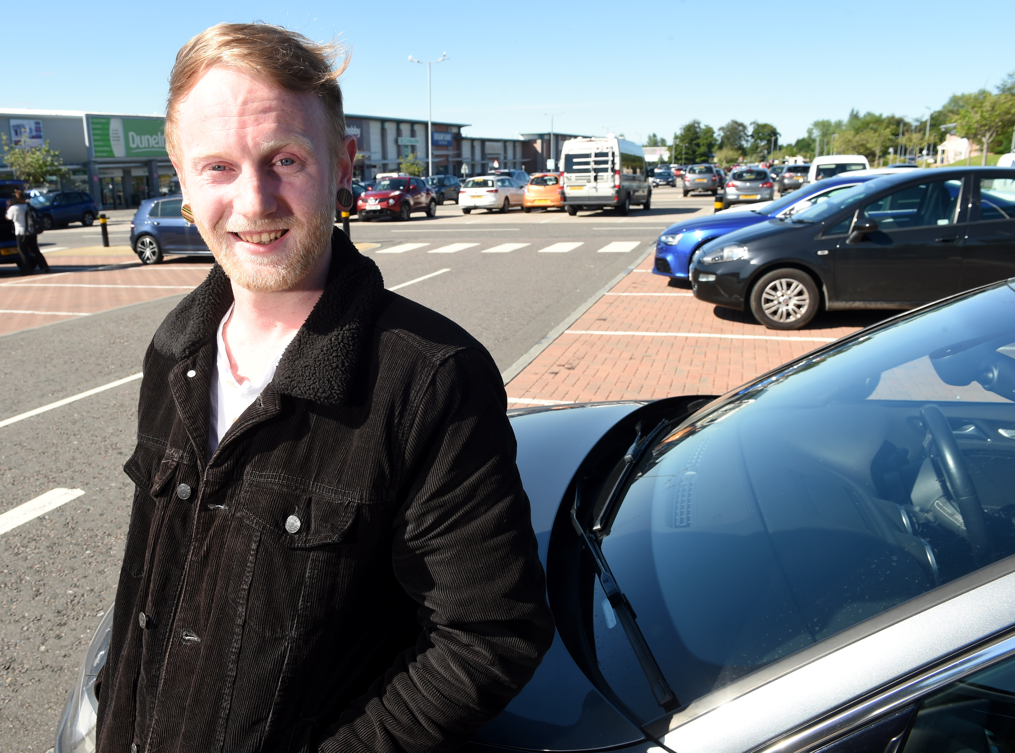 Thomas Barras, organiser of the Inverness Car Meet, A96 Cruisers. Picture by SANDY McCOOK