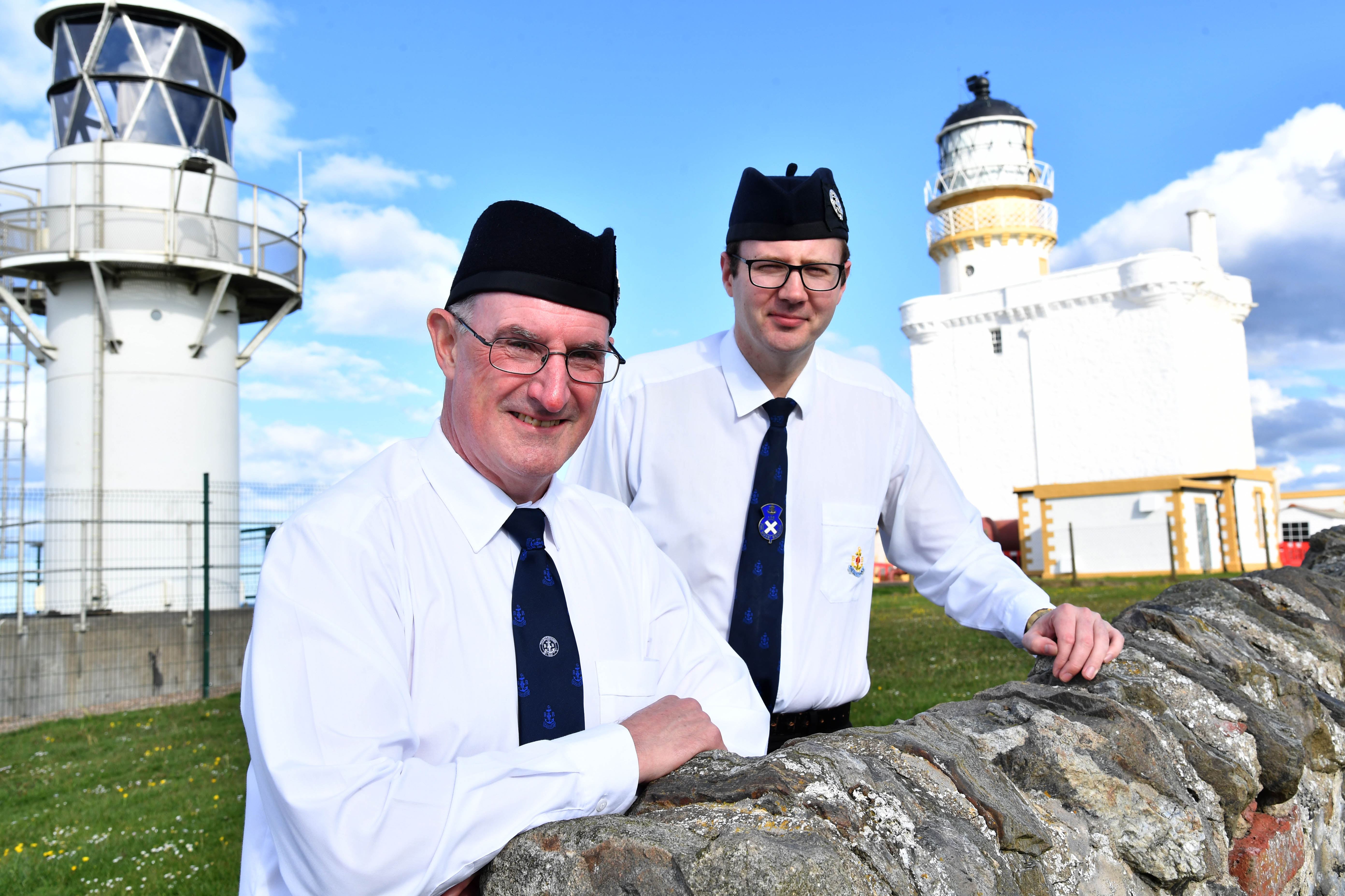 Fraserburgh BB leaders Martin Dunbar (L) and Michael Strachan (R) are off to Edinburgh for the royal garden party on the 3rd of July.